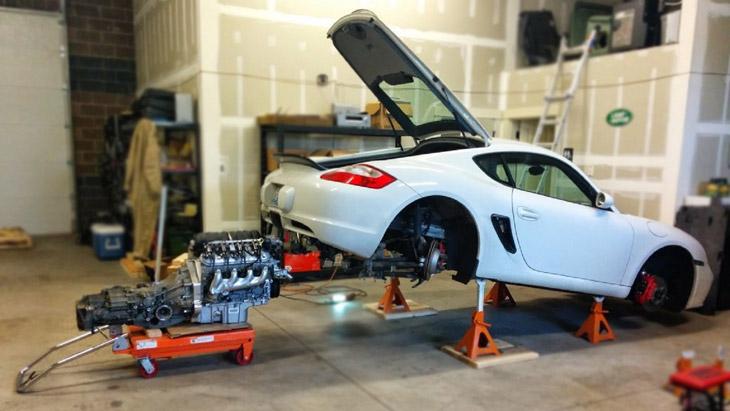 Porsche V8 Swap