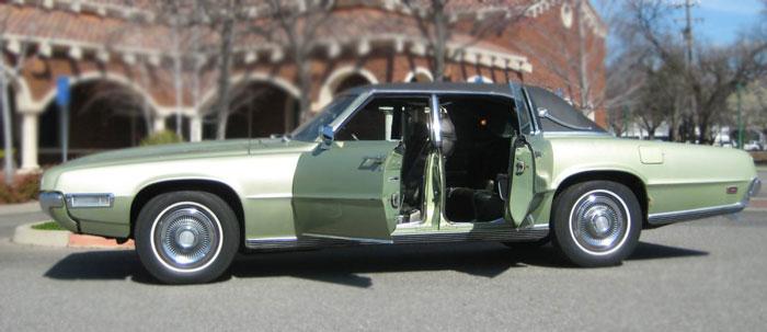 1969 Ford Thunderbird 4-Dr. Landau – $8500 (Chico)