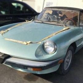 ALFA ALERT! – 1984 Alfa Romeo Spider – $1100