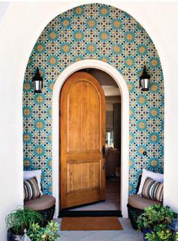 Modern Luxury Interiors California Hacienda Chic Lori Dennis 2