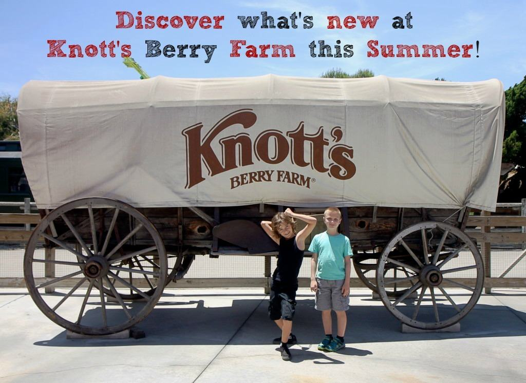 Check out what's new at Knott's Berry Farm this summer, plus score a $69 deal to stay at Knott's Hotel!