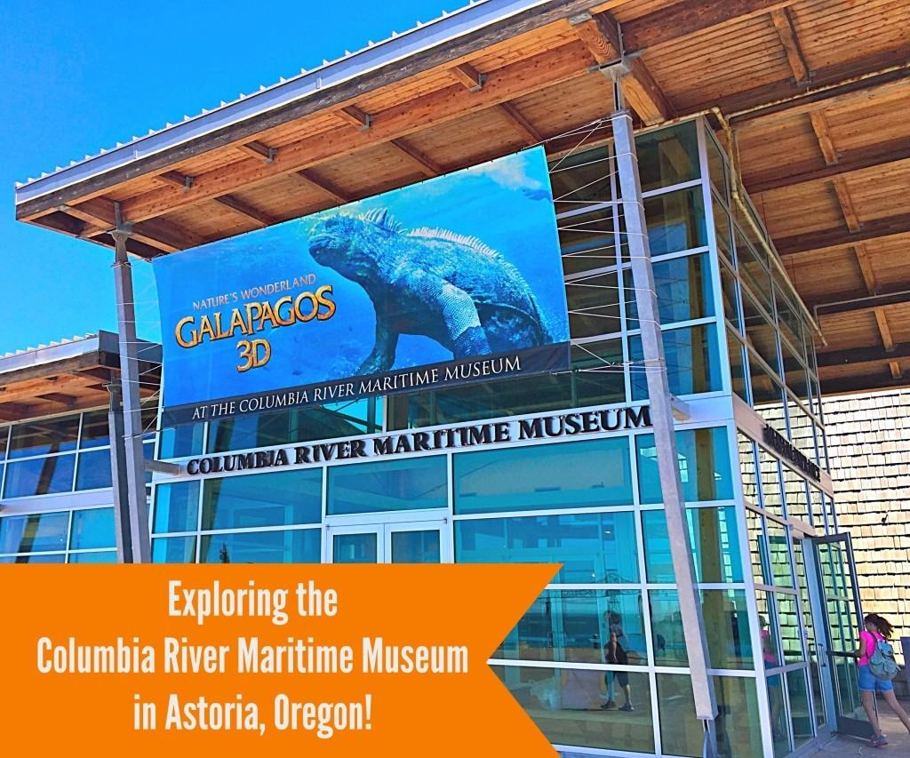 Exploring the Columbia River Maritime Museum in Astoria, Oregon with kids!