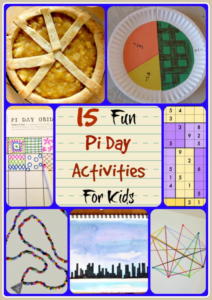 15 Fun Pi Day Activities for Kids provide some truly amazing and fun ways to learn all about the magical and mathematical concept of Pi.