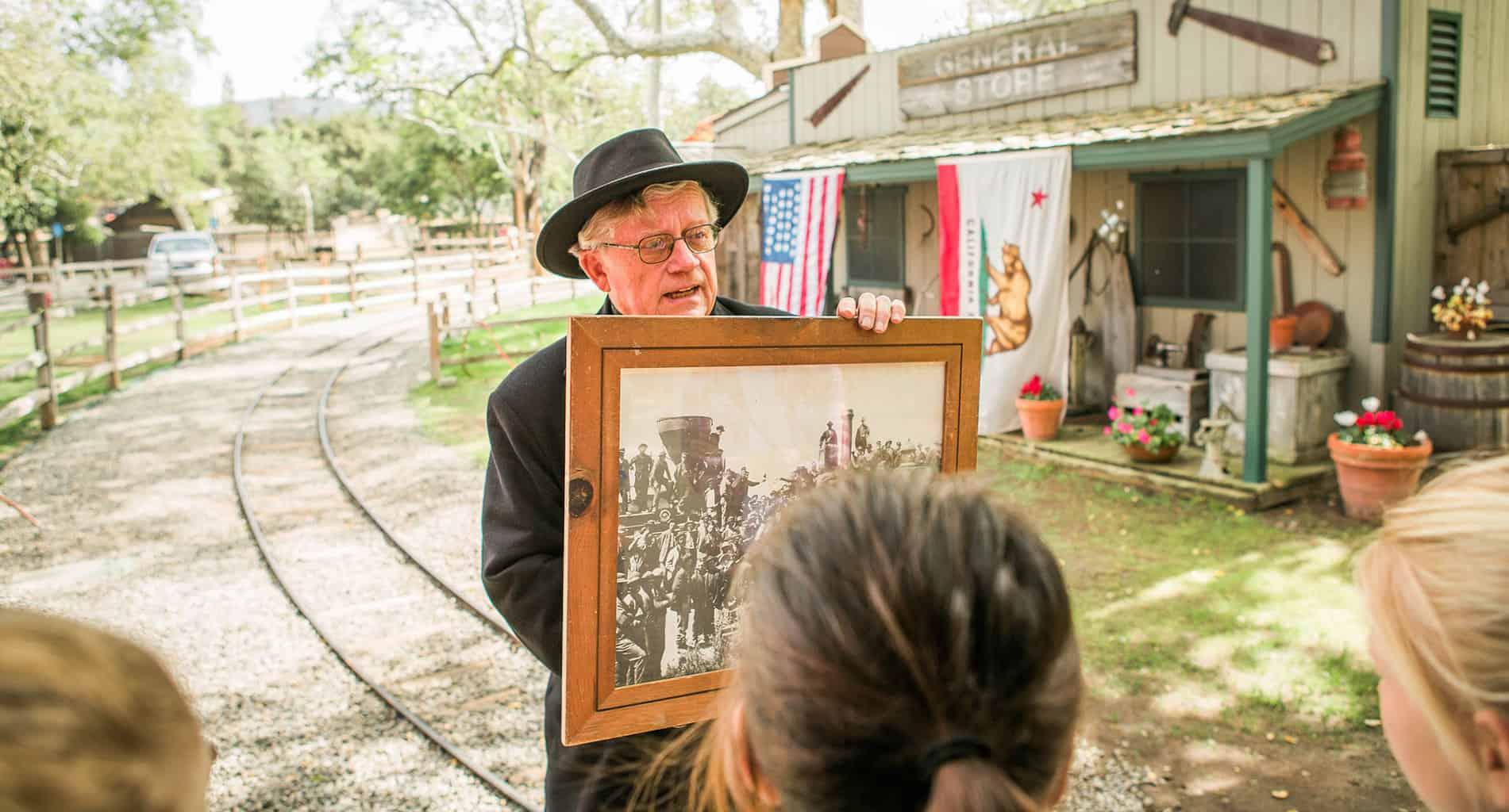Irvine Park Railroad California History Field Trips