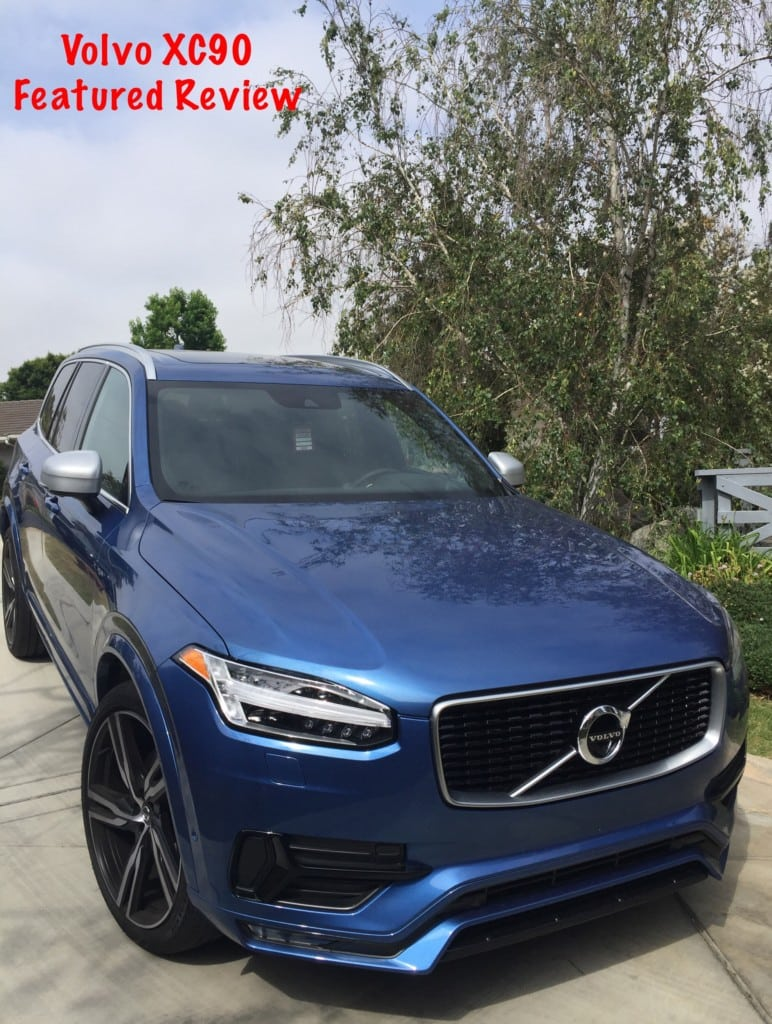Cruising In The All New 2016 Volvo XC90 T6 R-Design