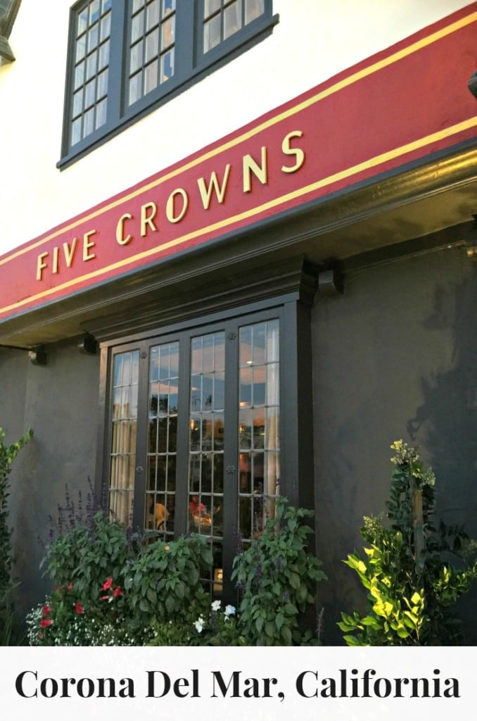 Five Crowns in Corona Del Mar