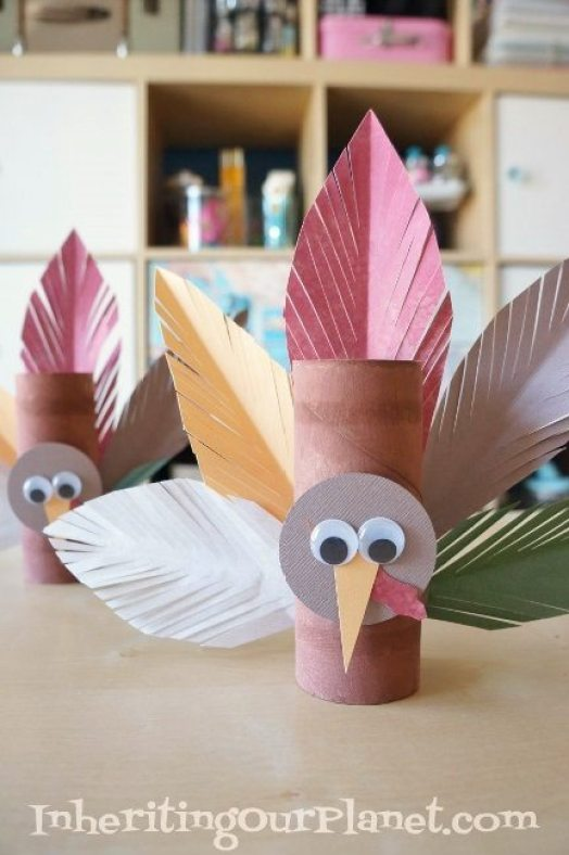 turkey-toilet-paper-roll-craft-for-preschoolers