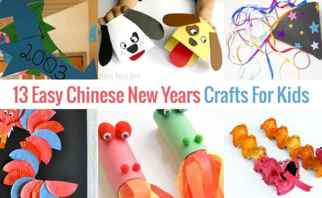 13 Easy To Make Chinese New Year Crafts For Kids Socal