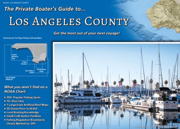 Front Cover of the Private Boater's Guide to Los Angeles County