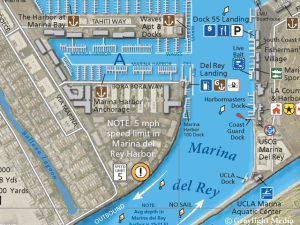 Small craft facilities in Marina Del Rey Harbor