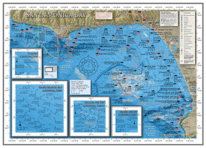 Santa Monica Bay Fishing Map