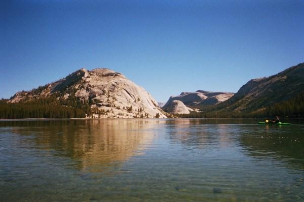 Tenaya Lake Yosemite National Park Southern California Kayak