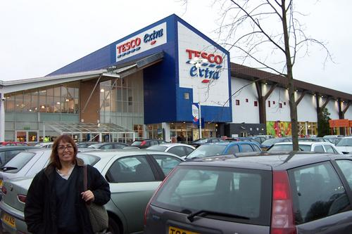 Tesco Extra, Cardiff, Wales UK