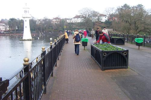 Bridge at Roath Park, Cardiff
