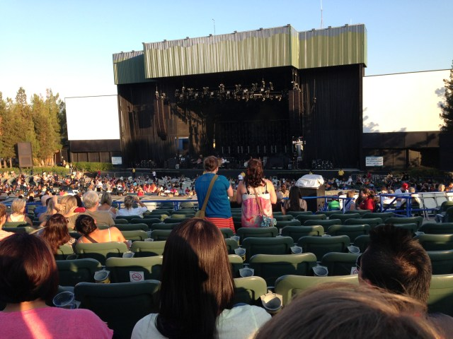 Stage for Gavin DeGraw, the Script and Train