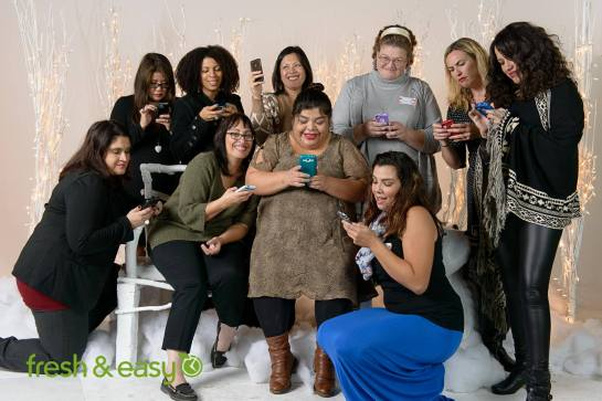 LA Bloggers at Fresh & Easy Holiday Party