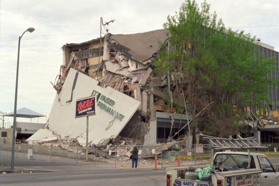Damage from Northridge quake