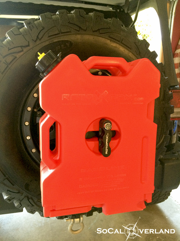 Spare Tire Jerry Can Mount : spare, jerry, mount, Installation, Spare, Carrier, SoCal, Overland