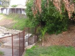 desert bronze safety pool fence