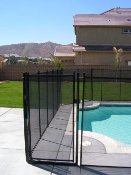 black removable gate
