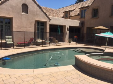 removable pool fencing