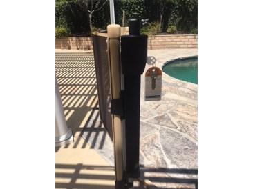 magnetic pool latch