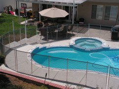 safety net and pool fence
