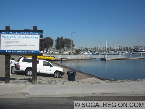 Boat Launch at Chula Vista.
