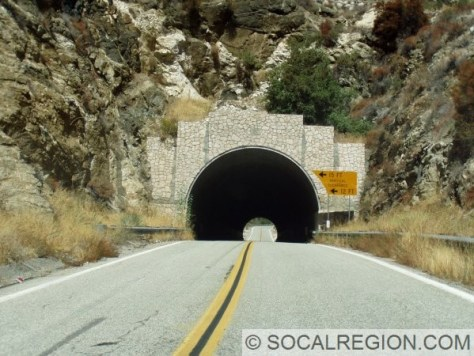 Tunnel just north of the Mill Creek bridge. Built in 1941.