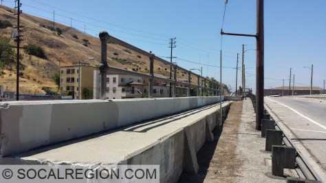 Passenger platform on the northbound side.