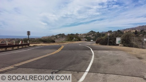 Palos Verdes Drive South as it goes onto the main slide.