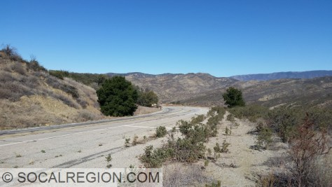 Three Mile Grade at the Oak Flat Ranger Station.