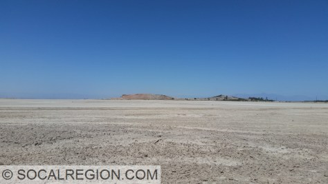 Red Hill and dried up embayment of the Salton Sea.