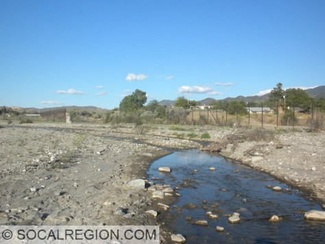Santa Clara River near Lost Canyon Road.