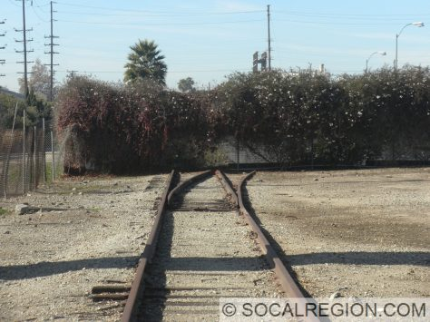Eastern switch at Home Junction. Expo Line continues straight ahead.