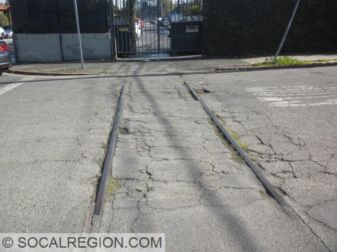 Tracks at Broadway St in Venice. Yes, the PE lives on!