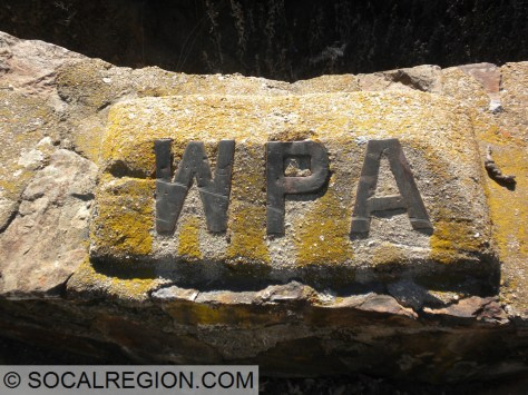 Real nice WPA brass lettering still intact. A rare sight indeed.