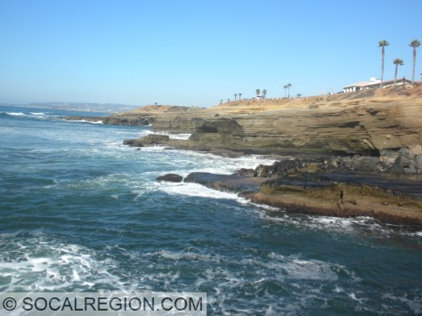 Sunset Cliffs - looking north.