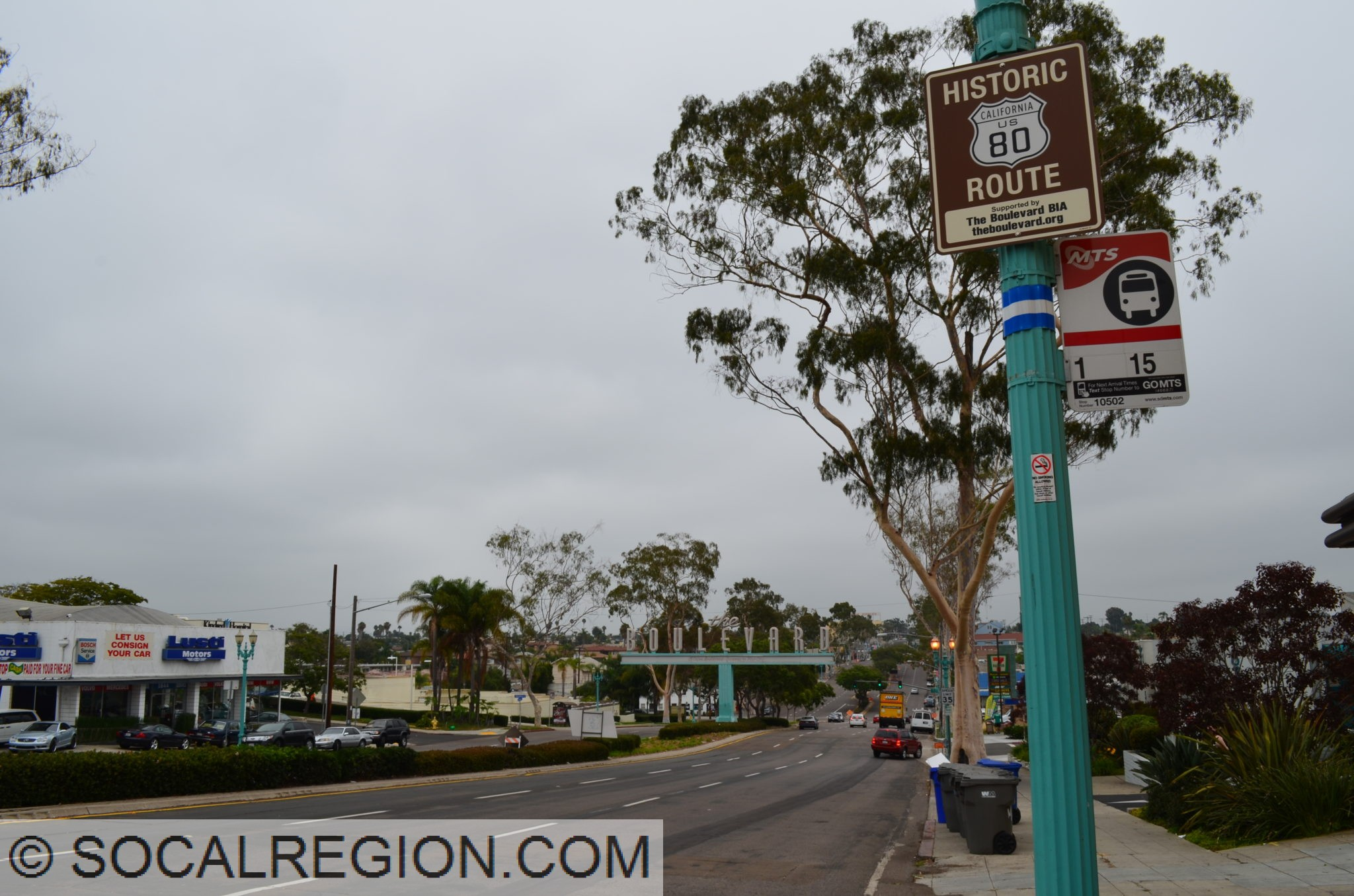 Historic Us 80 In San Diego And Imperial Counties