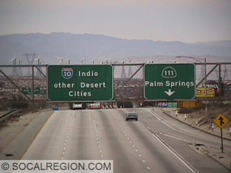 "Instead of Phoenix, we get ""other Desert Cities"", referring to towns along the 10 corridor instead of the 111."