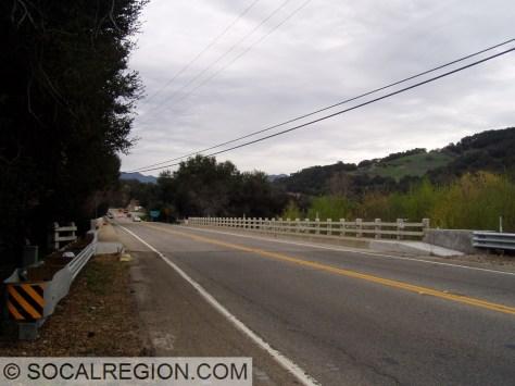 San Antonio Creek bridge near Ojai.