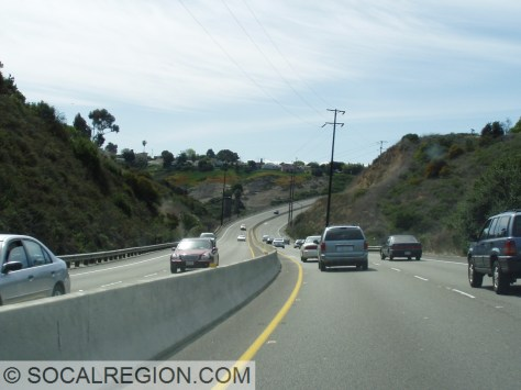 Through Tecolote Canyon, Balboa takes on an expressway feel.