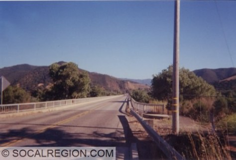 Santa Ynez River Bridge on old 101 south of Buelton. This is just north of where you have to get onto 101 over Nojoqui Summit.