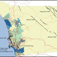 San Diego Geology - Major Faults