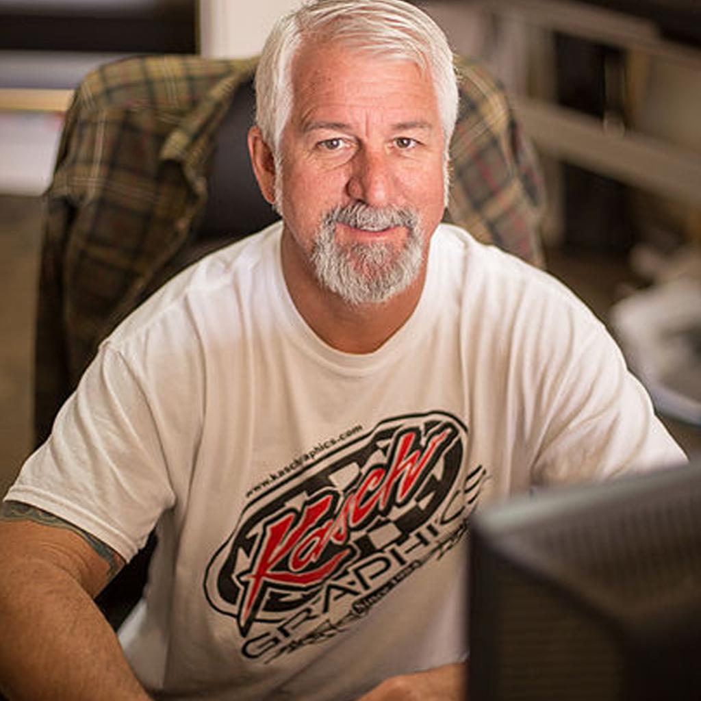 Rob Kasch - Kasch Graphics Portrait