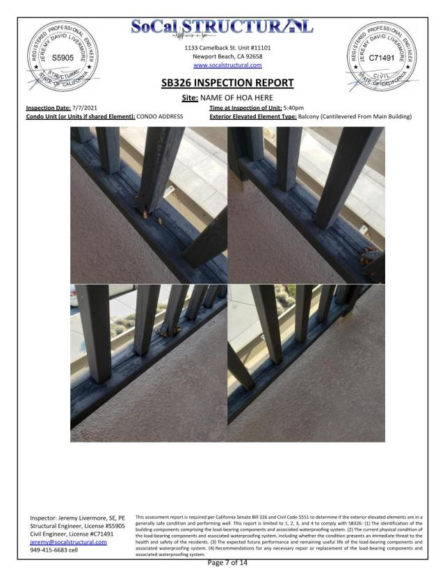 example SB326 inspection