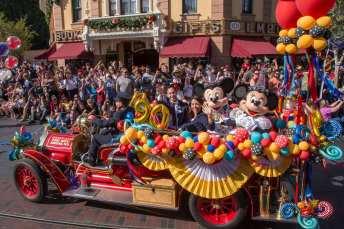 Disneyland Celebrates 90th Birthday of Mickey Mouse