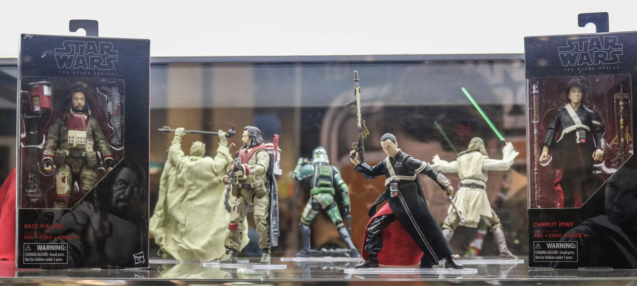 Habro's Black Series is sure to make an explosive appearance, as seen here at Star Wars Celebration Orlando