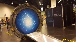 Step into the Stargate for a photo op.