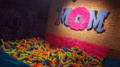 Drop on in and have a swim in the ball pit